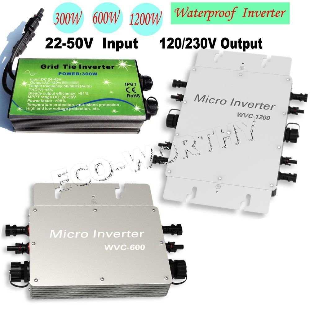 300w 500w 600w 1kw 1 2kw Waterproof Inverter 12v 24v To 110v For Solar Panel Kit Solar Panel Kits Solar Panel Installation 12v Solar Panel