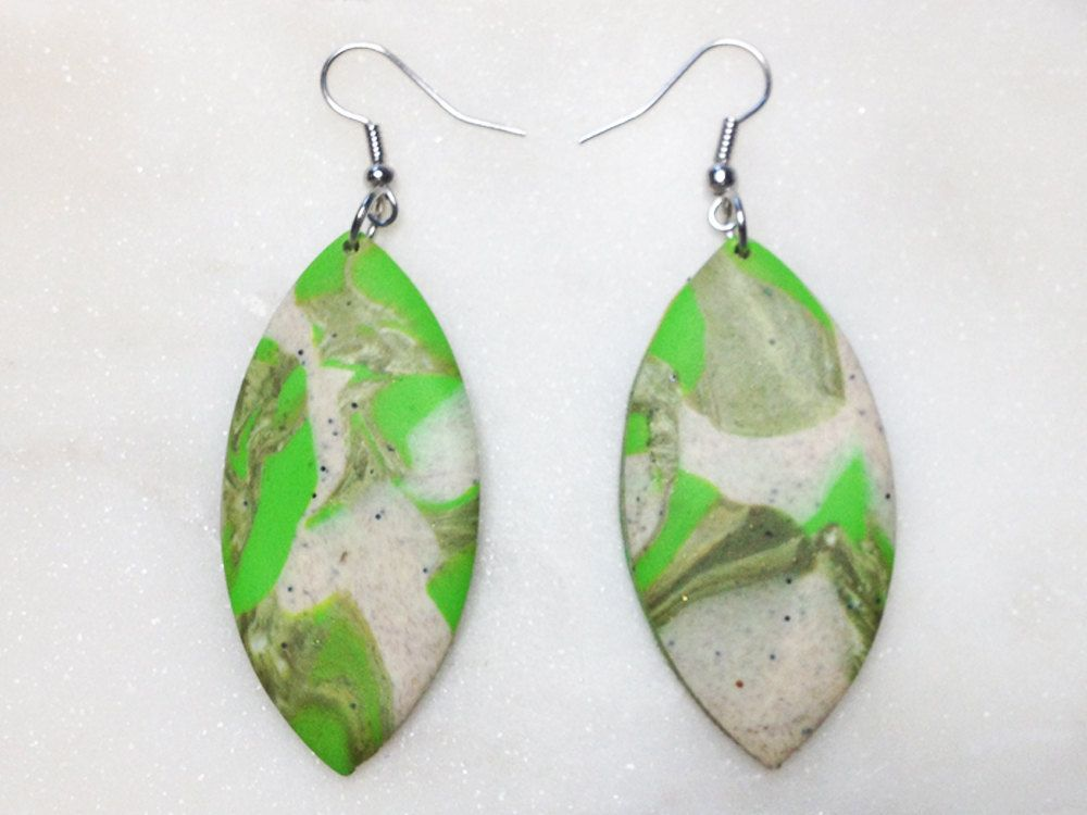 Moor Statement Ohrringe Modern Handmade Schmuck Ohrhanger Silber