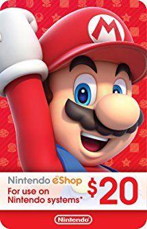 Ecash nintendo eshop gift card 20 switch wii u 3ds digital ecash nintendo eshop gift card 20 switch wii u 3ds digital code fandeluxe Gallery