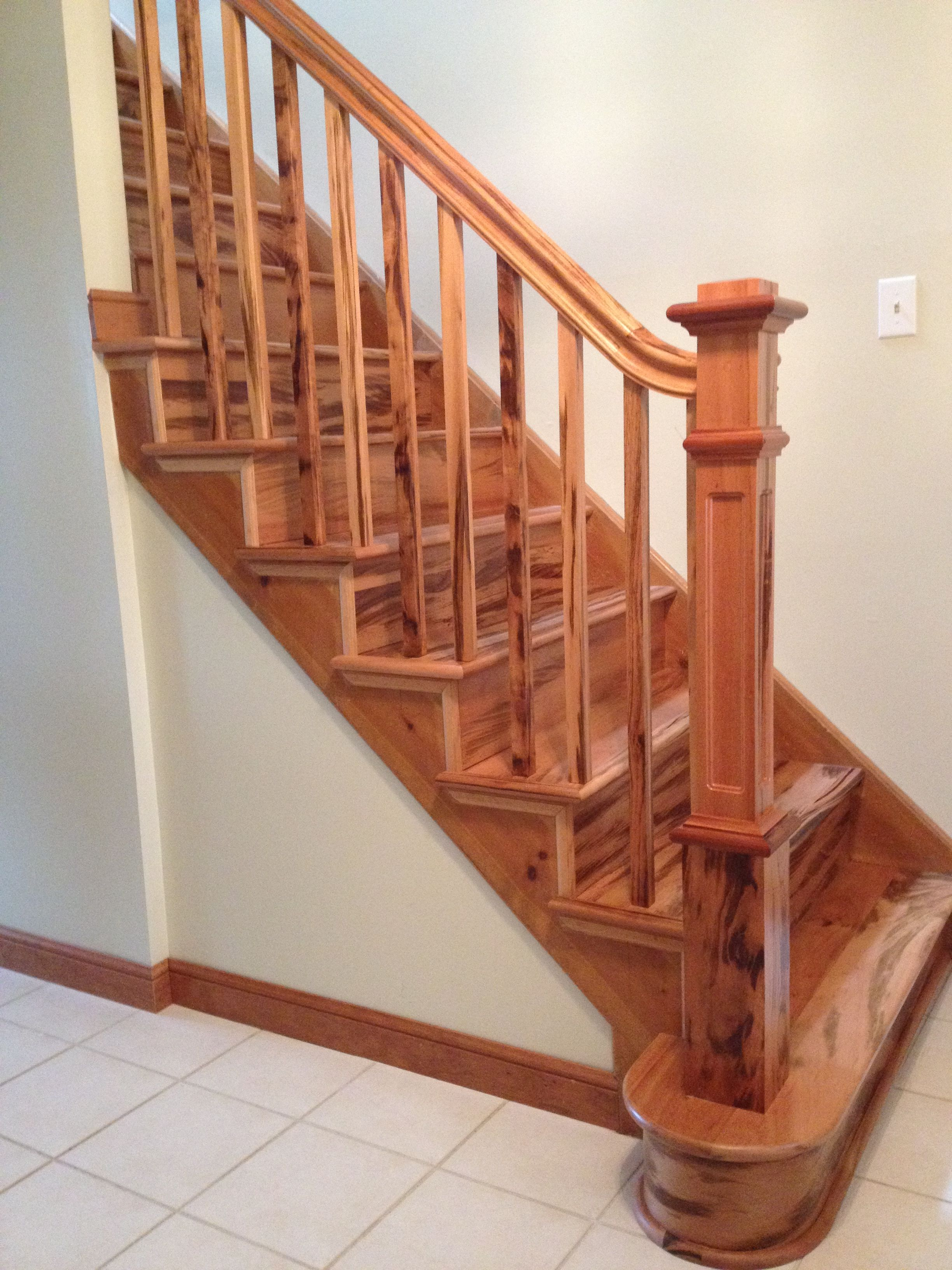 Wooden Staircase Pictures Pin By Stairsupplies Custom Stairs On Finished Projects