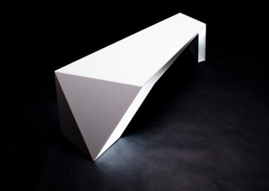Awesome Wonderful Futuristic FOLDONE Table By Novae Architecture : Futuristic  FOLDONE Table With Elegant White Table And Amazing Pictures
