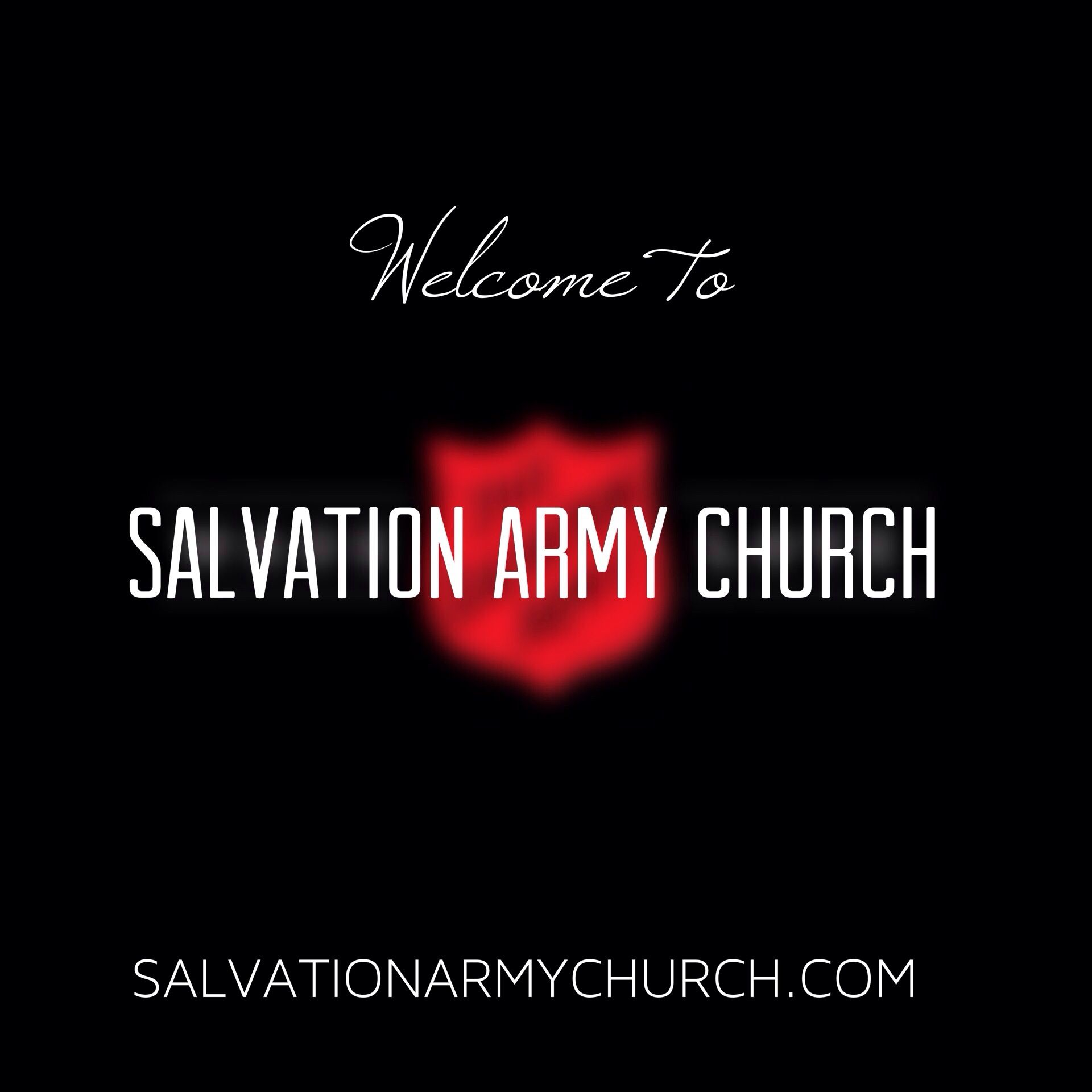 Welcome Slide Salvation Army Army Red Shield