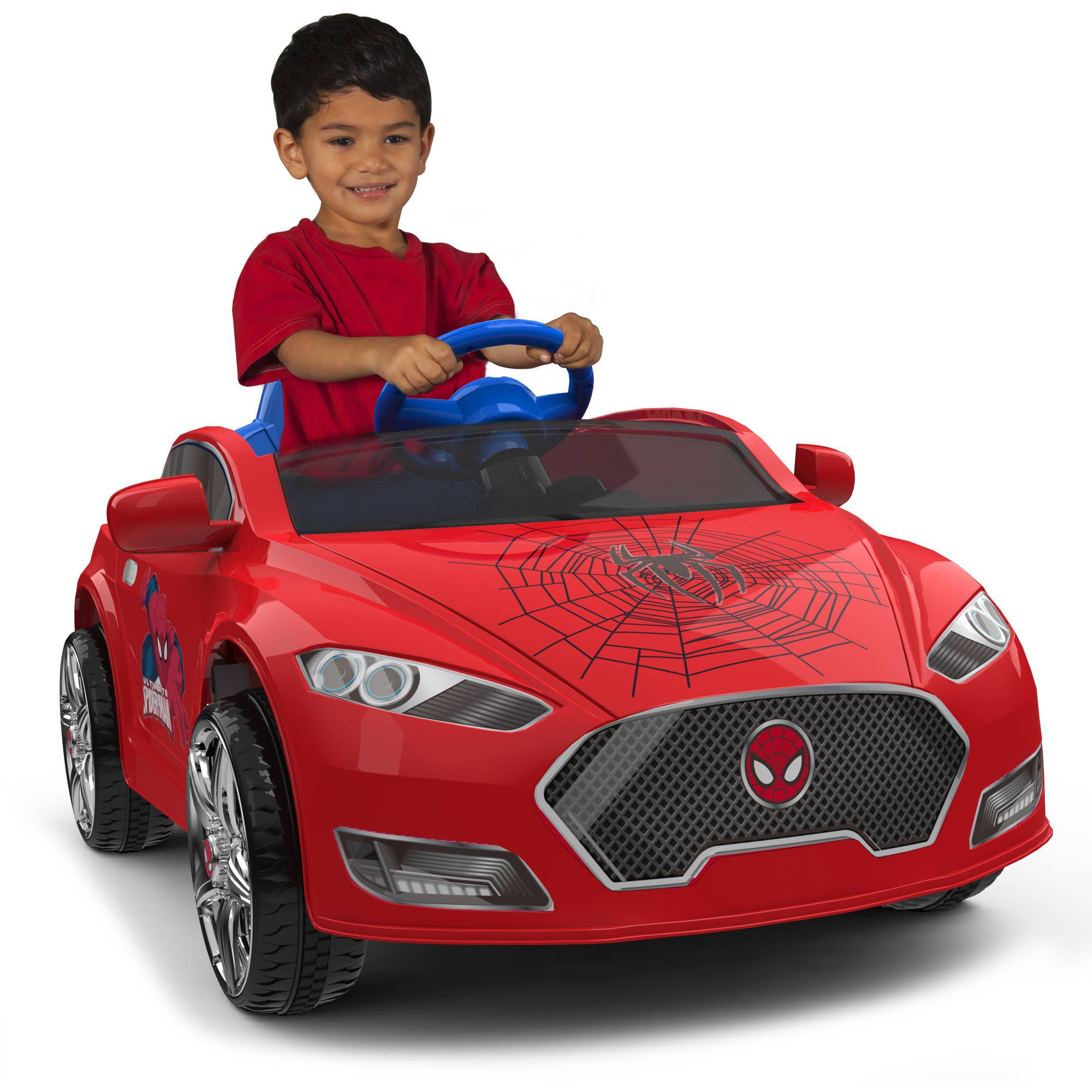 Best Choice Products 12v Kids Battery Powered Remote Control Electric Rc Ride On Car W Led Lights Mp3 Aux Red Walmart Com Toy Cars For Kids Ride On Toys Toddler Sports