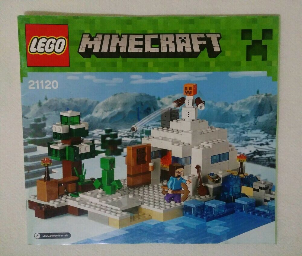 LEGO Minecraft The Snow Hideout (21120) Instruction Manual