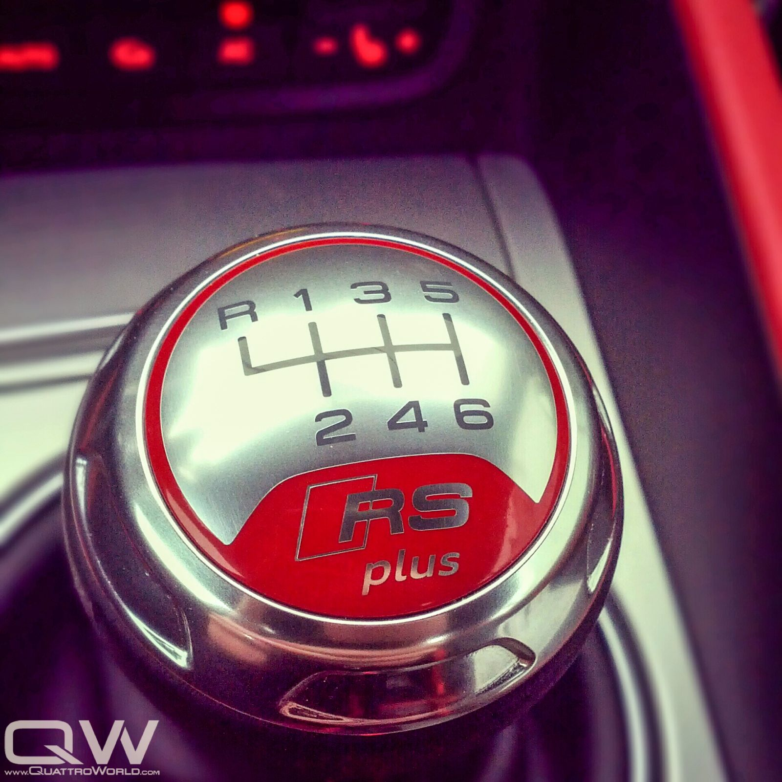 RS Plus Shift Knob From The Euro-Spec TT RS Plus