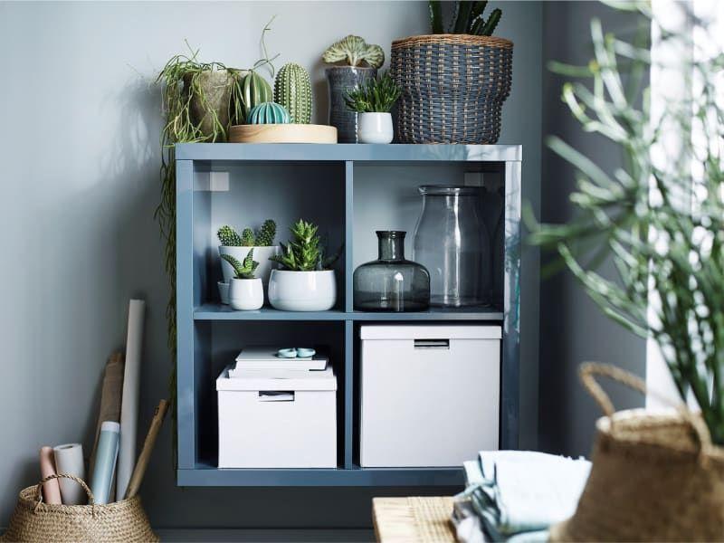 Easy Ikea Kallax Shelves Hacks 2018 – Upgrade Bookshelf ...