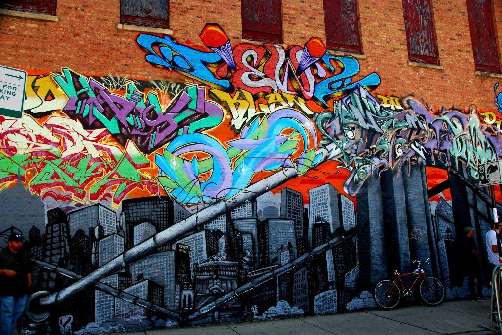 Граффити из фото онлайн