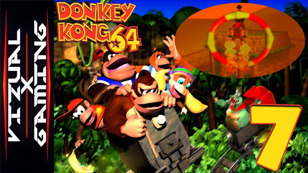 Donkey Kong 64 (#7) Flying Around At The Speed Of Sound