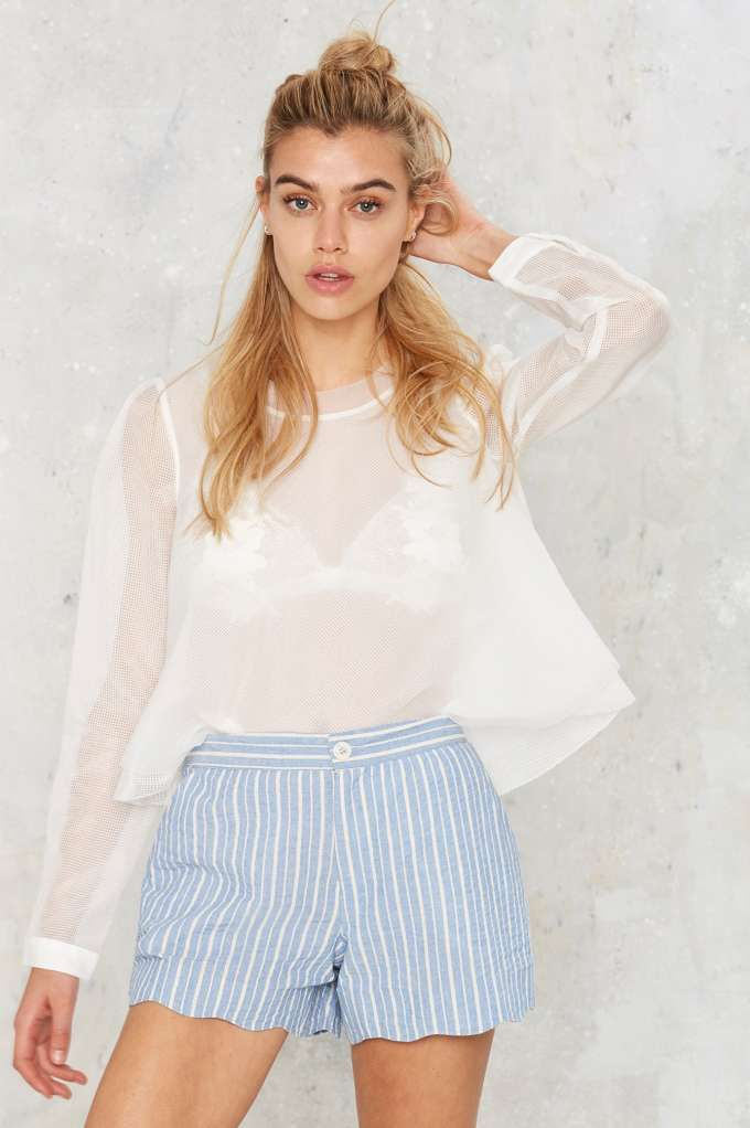Bicoastal Striped Shorts | Shop Clothes at Nasty Gal!