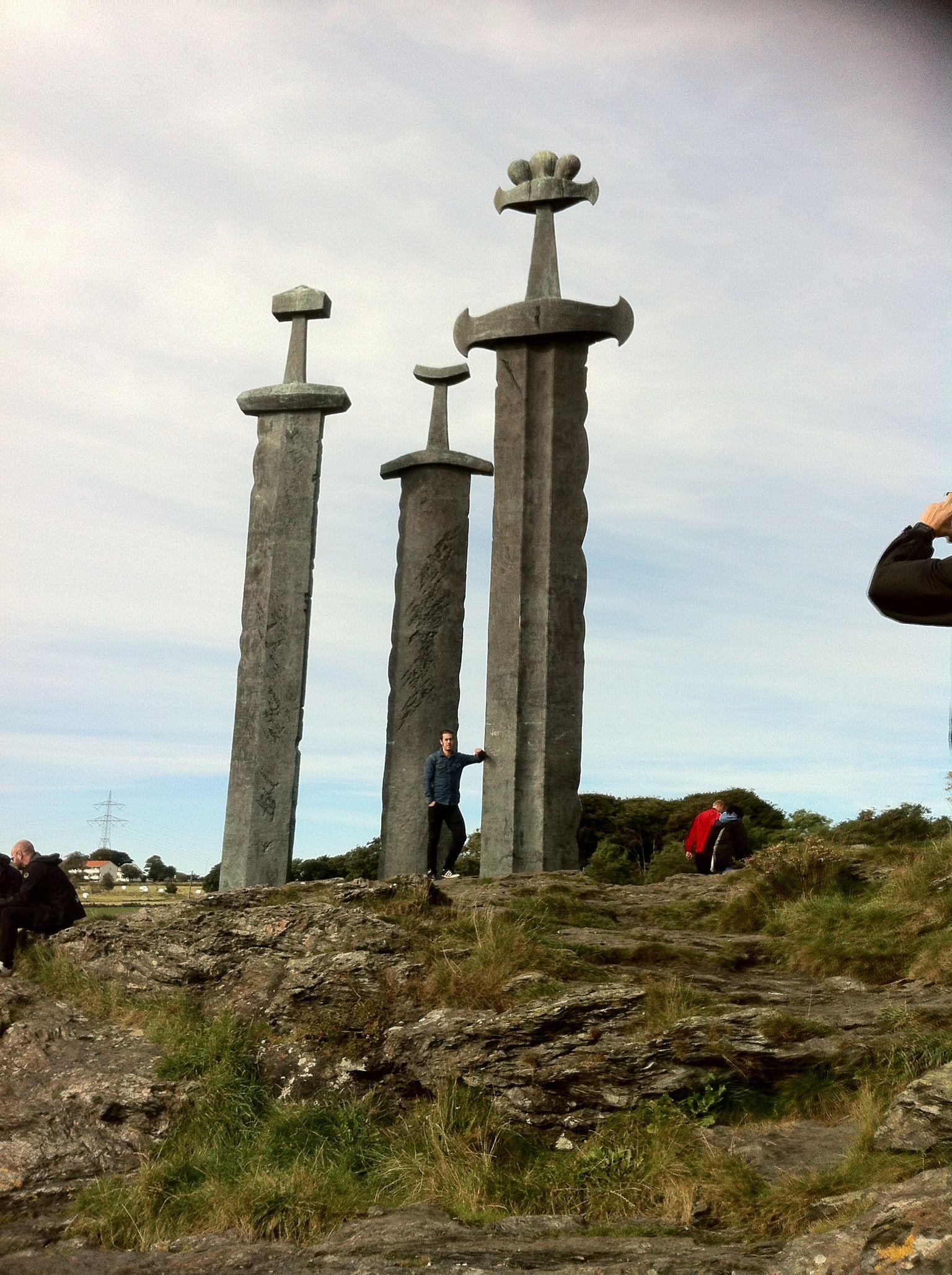 Viking monument ,Stavanger Norway