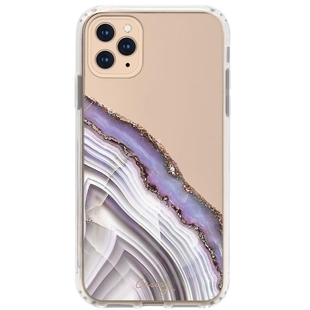 Casery Agate Case For Iphone 11 Pro Max In Light Purple In 2020 Iphone Cases Iphone 11 Iphone