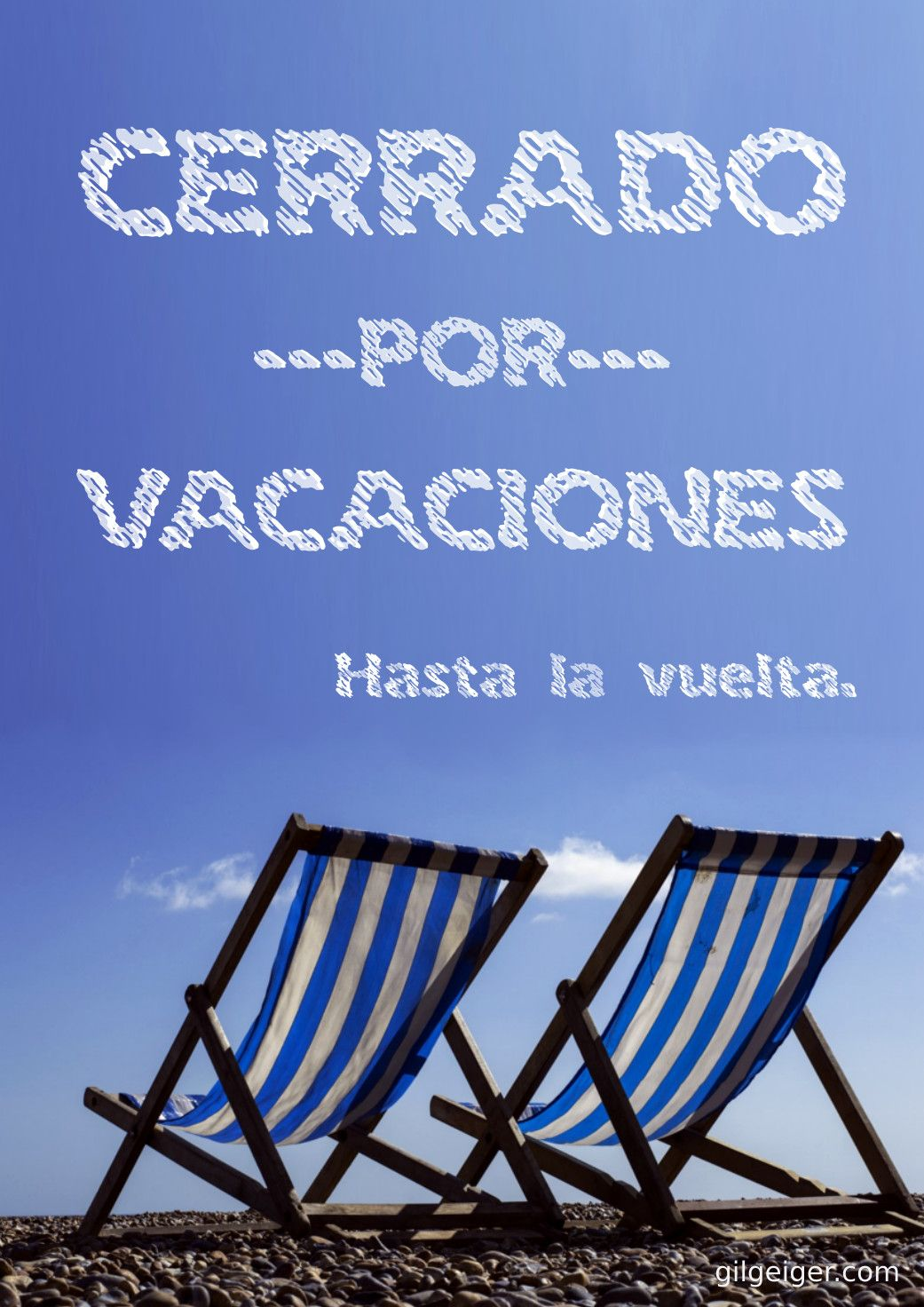 Cartel cerrado por vacaciones cartel cerrado por vacaciones cartel cerrado por vacaciones thecheapjerseys Image collections