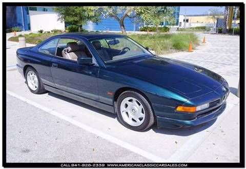 1996 BMW 8 Series for sale in Sarasota, FL BMW