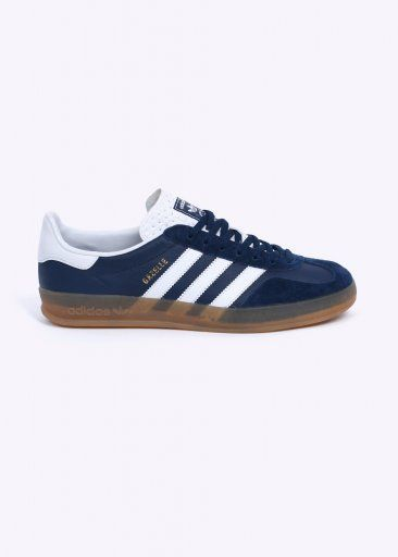 new product 0b55d d0ecc Adidas Originals Footwear Gazelle Indoor Trainers - Oxford Blue   White    Gum