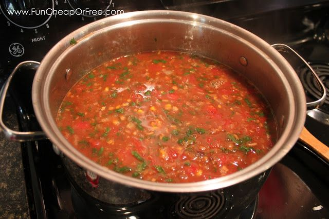 Foodie Tuesday Recipe: EASY Taco Soup - Fun Cheap or Free