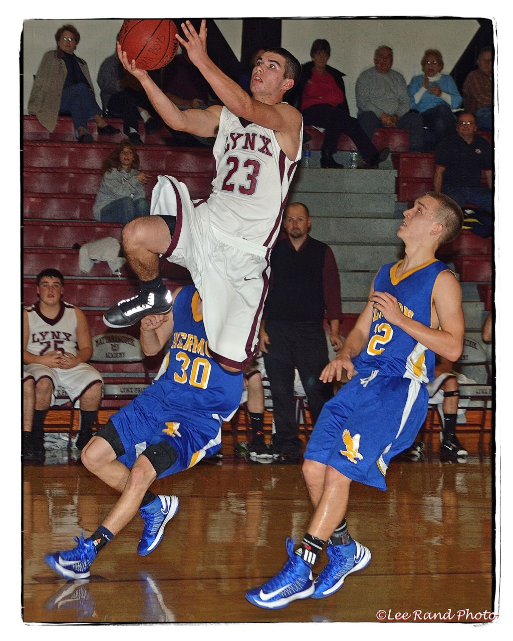 Mattanawcook Academy Co Captain Trysten Pelkey Goes To The Basket Against Hermon Tuesday Night 12 5 12 Www Welcometoli Sports Jersey Basketball Court Hermon