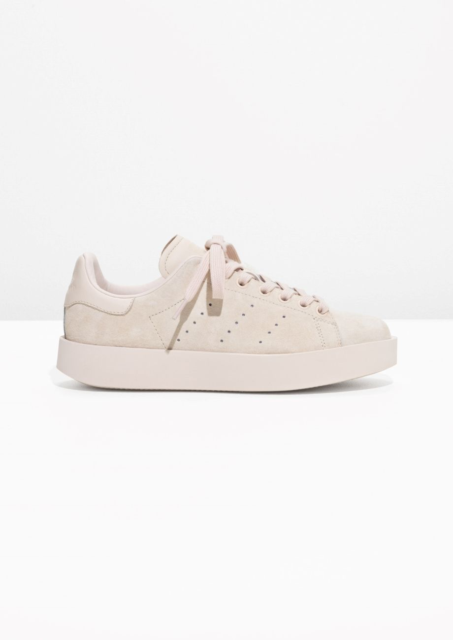 cb050b01290710 Other Stories image 1 of adidas Stan Smith Bold in Beige
