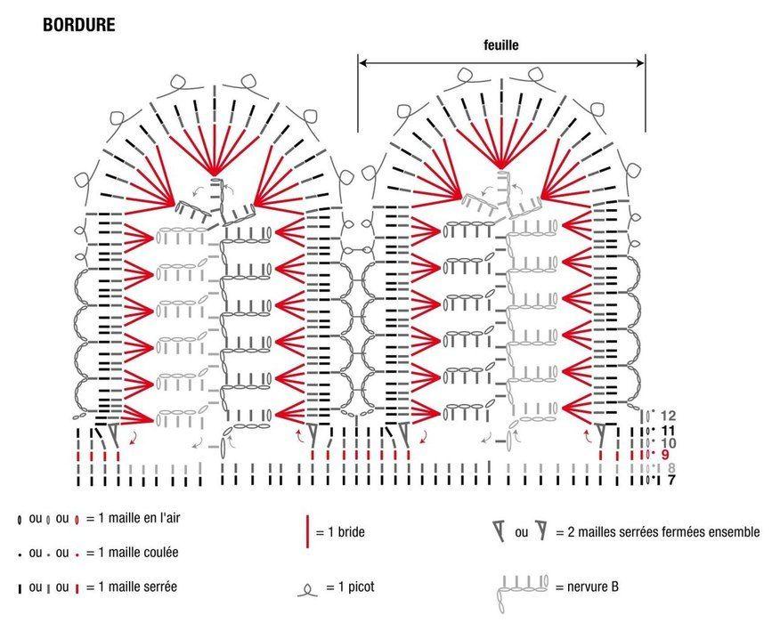 Схемы вязания спицами и крючком №4