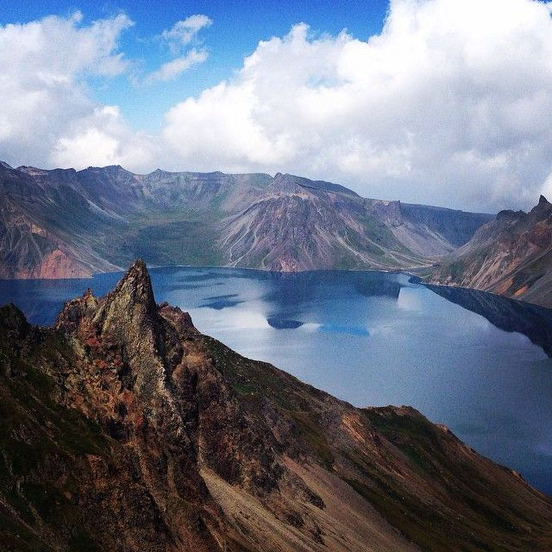 Photo of Paektu mountain, North Korea – Photo: The North Korean Landscape …