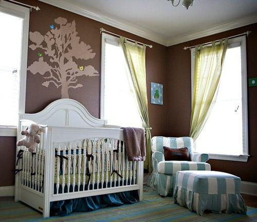 Babyzimmer Einrichten 14 Deko Ideen In Warmen Brauntonen