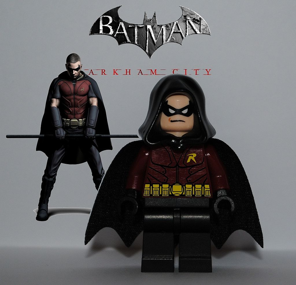 Lego batman arkham knight robin google search batman arkham knight robin batmobile arkham knight