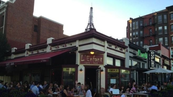 Eat at L'Enfant Café in Adams Morgan