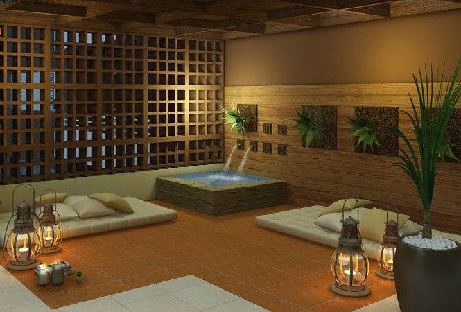 Como criar um espao zen na sua casa  Meditao e Relaxamento  Espao zen Espao de meditao e Varanda zen