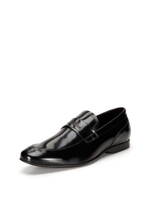 Versace Embossed Loafers