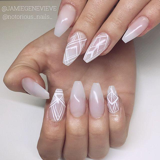Coffin nails @KortenStEiN | Nails | Pinterest | Clavos de ataúd y Uñas