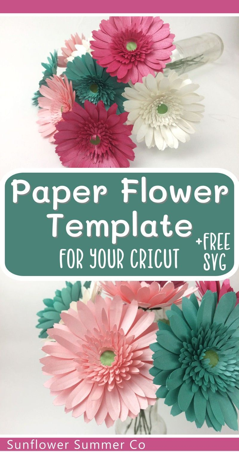 paper flower tutorials and templates