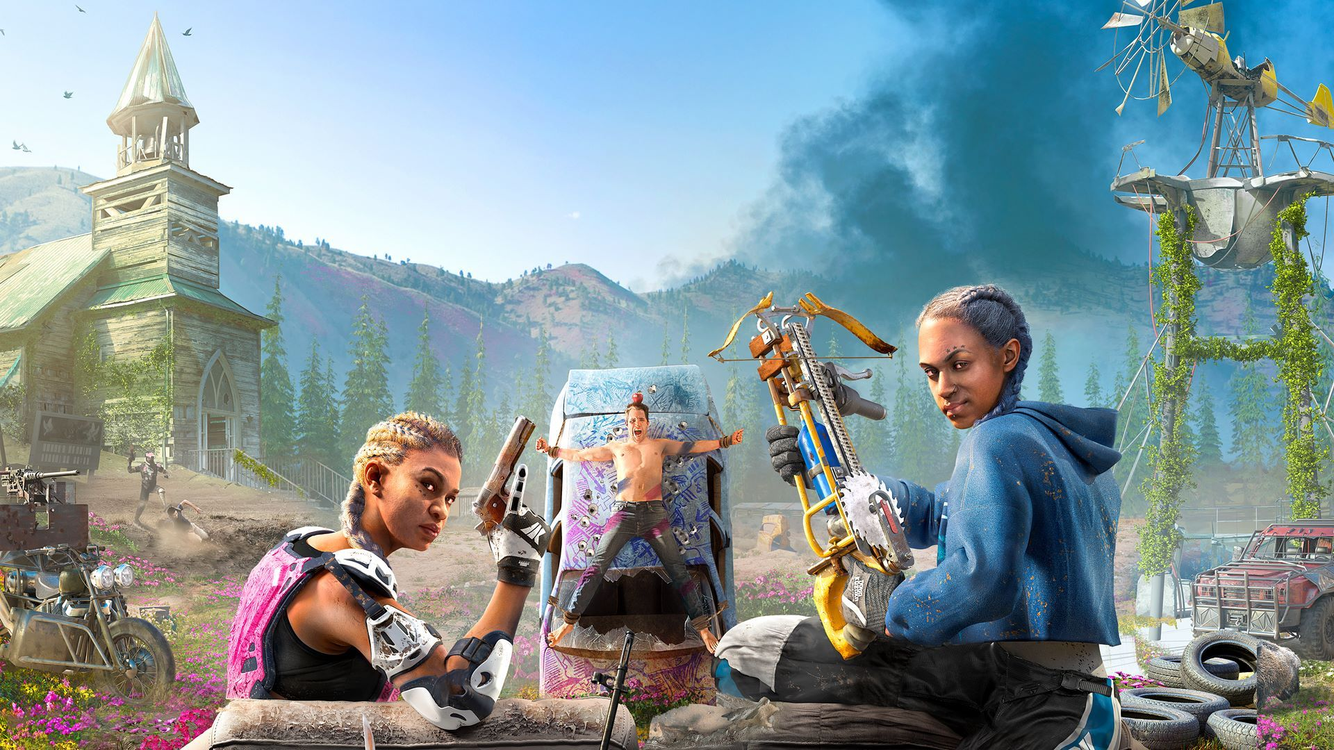 far cry new dawn wallpaper 1080p