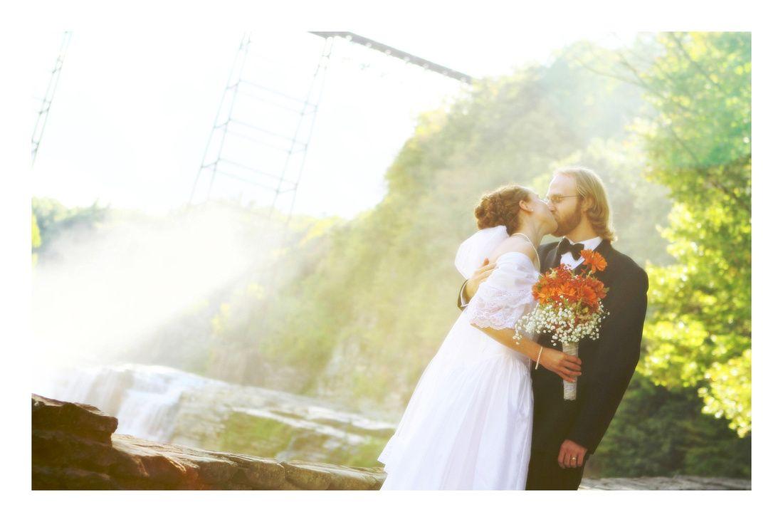 Letchworth State Park Wedding | Upper Falls Wedding | Wedding ...