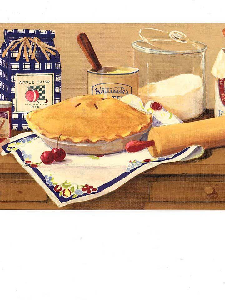 apple pie - yum. kitchen art