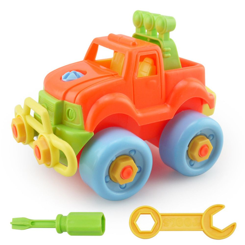 2016 plastic kids disassembly toy car child educational toys cars baby classic christmas gift