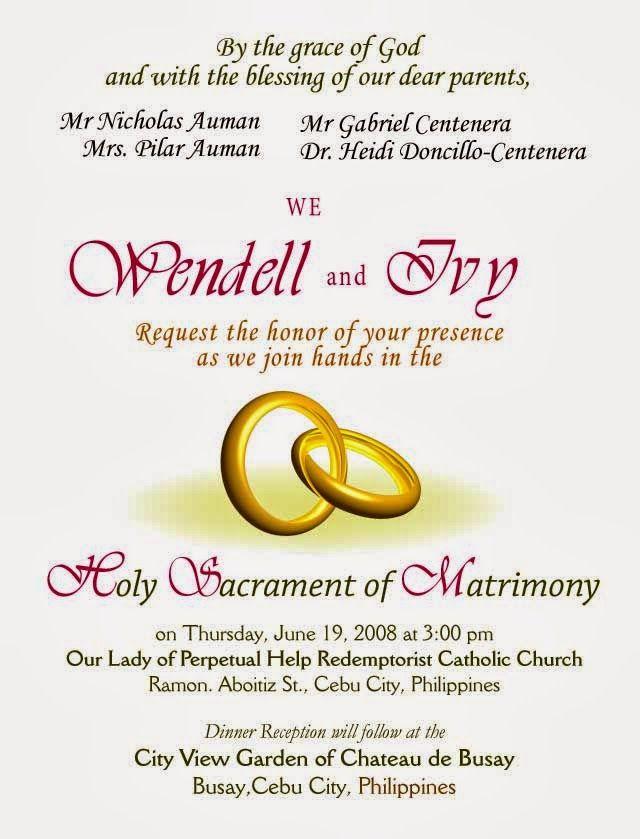 Simple Wedding Invitation Sample Sample Wedding Invitation Wording Fun Wedding Invitations Christian Wedding Invitations