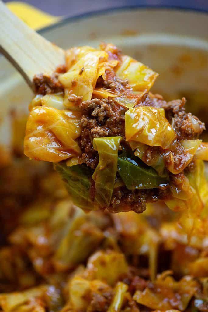 Unstuffed Cabbage Rolls Recipe Keto Cabbage Recipe Low Carb Casseroles Keto Diet Recipes