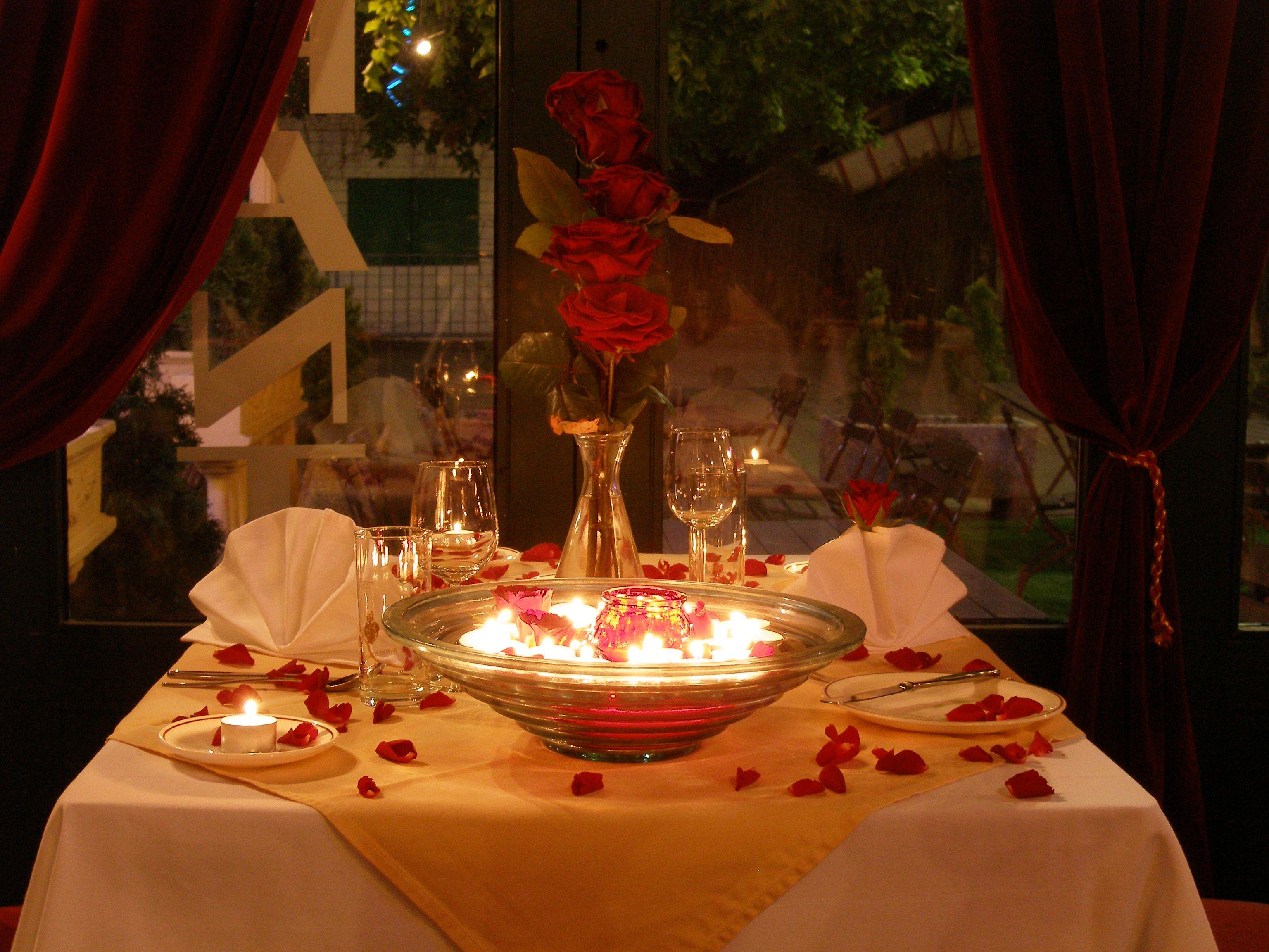 candle light dinner rezepte