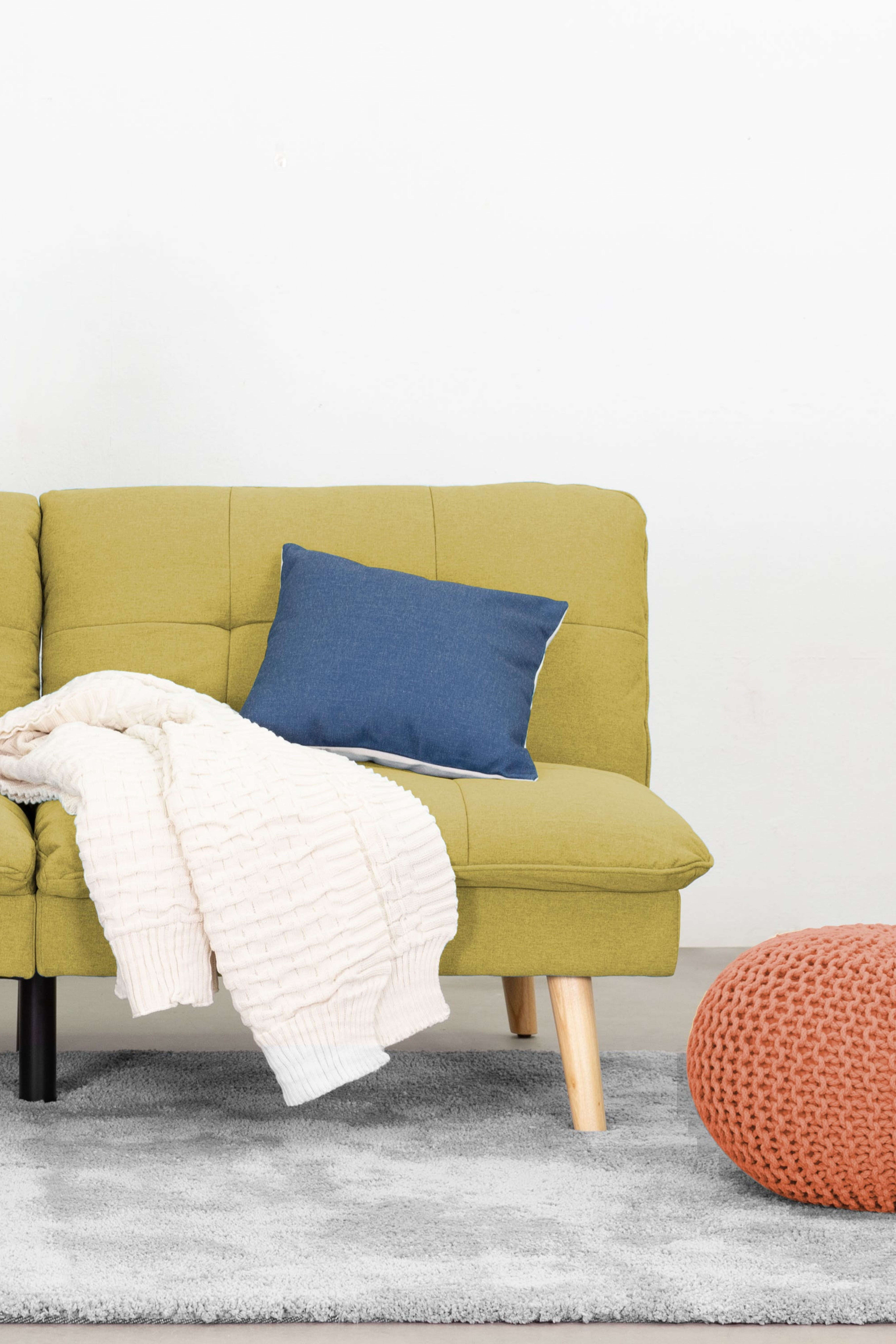 The Jen Sofa Bed Is A Fun Trendy Piece To Add Some Colour Into