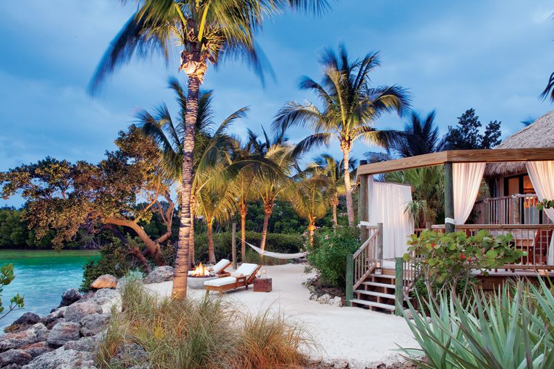 Private Bungalows On Little Palm Island