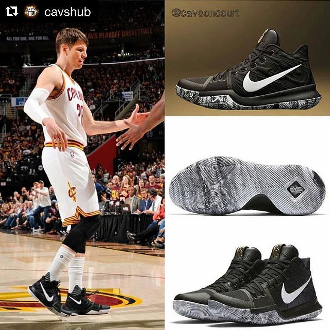 #Repost @cavshub (@get_repost) | Dope or Nope? Double-Tap if you'd wear  Model: Nike Kyrie 3 Last like wins!!! - Tags: #uncledrew #Jordans #kyrie3  #kicks ...
