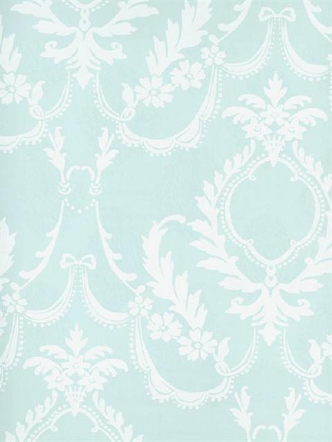 Sd121 Splendor Wallpaper Book Victorian Lace Damask Totalwallcovering Com Blue Wallpapers Damask Wallpaper Discount Wallpaper