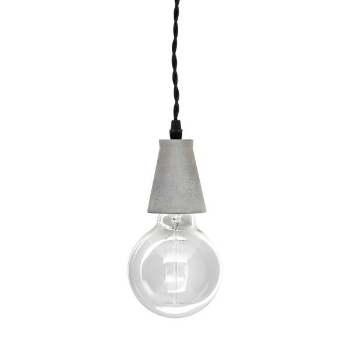 Barbican Shop Concrete Cone Pendant Lamp: This Concrete Pendant Lamp Adds A  Smart And Modern