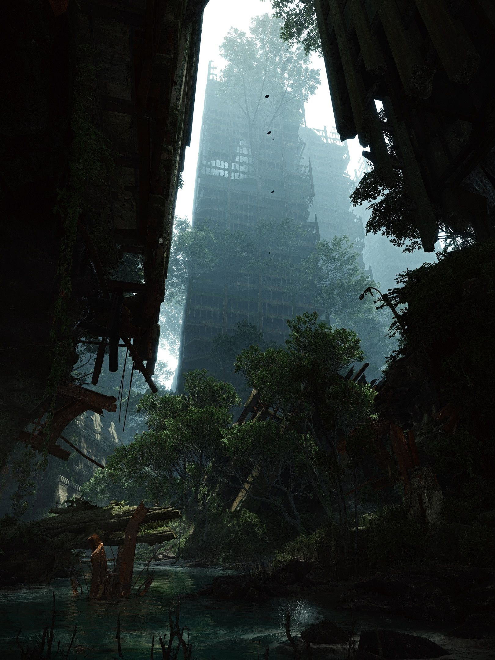 Your Computer Probably Can't Make Crysis 3 Look This Good #overgrownaesthetic