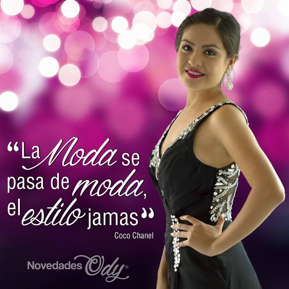 La #moda se pasa de moda, el estilo jamás. Coco Chanel #frases ...