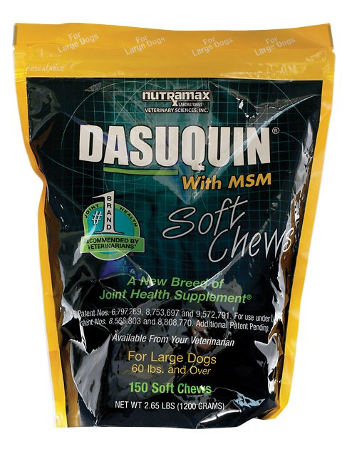 Nutramax Dasuquin With Msm Soft Chews Joint Health Large Dog Supplement 300 Count Chewy Com Joint Health Joint Health Supplement Dog Supplements