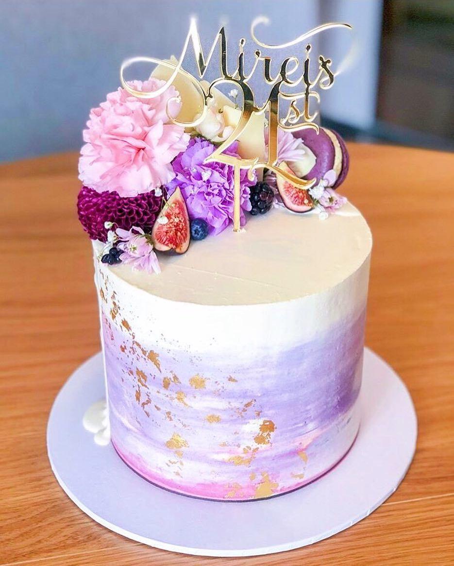 Pin By Wilina Monee On Purple Mood Board Purple Cakes Birthday