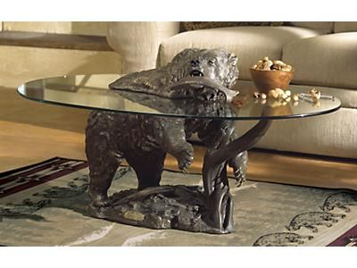Bear coffee table. WANT. Best design.