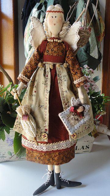 Fatima Pires Anjos Artesanais Costurando Bonecas E Artesanato