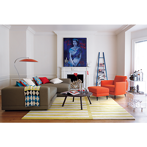 Best Parlour Atomic Orange Chair In Chairs Cb2 Modern Sofa 400 x 300