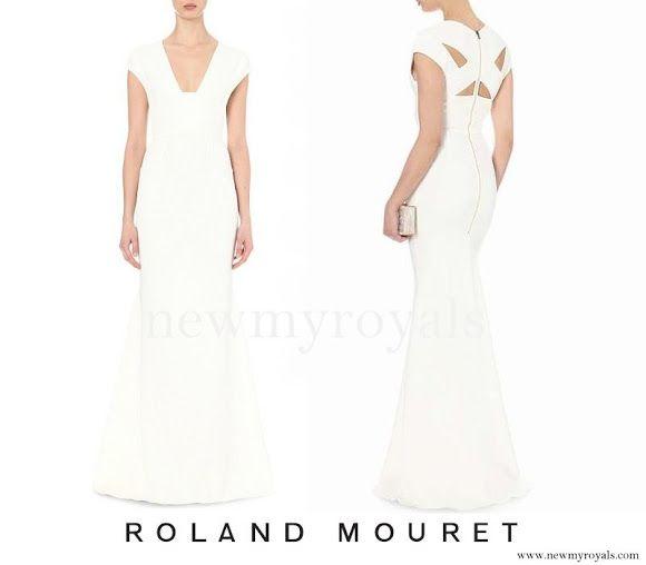 12 June 2016 - Charlene style: Roland Mouret